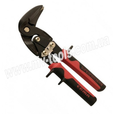 Рычажные ножницы EDMA с изогнутыми на 90° лезвиями, левый рез