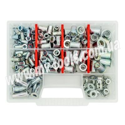 Набор резьбовых заклепок GOEBEL M4-M10 из оцинкованной стали Start (230 шт)