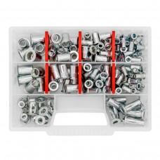 Набор резьбовых заклепок GOEBEL M5-M10 из нержавеющей стали Standart (170 шт)