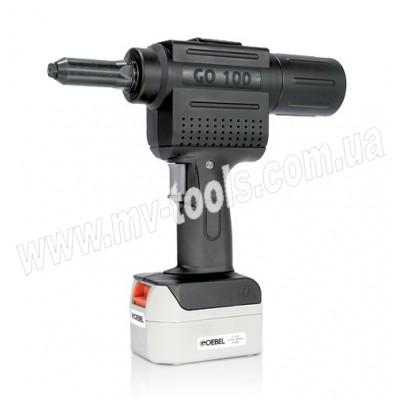 Аккумуляторный заклепочник GO-100 (Ø 2.4-5.0)