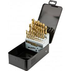 Набор сверл по металлу HSS-TIN 1,0 - 13,0 мм