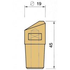 Электрод PEI-POINT E74