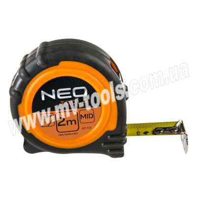 Рулетка NEO усиленная 2-8 м