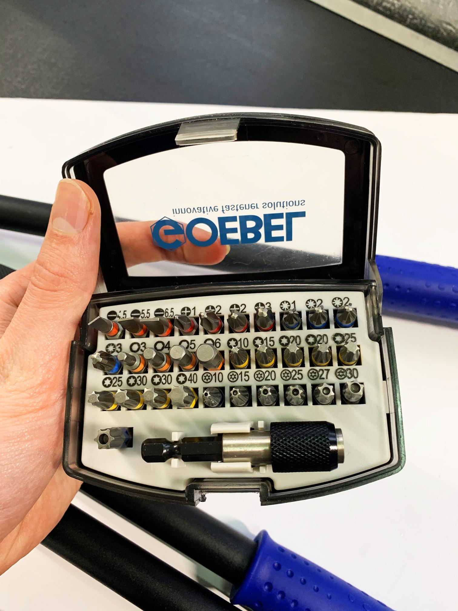Набор бит Goebel на 32 предмета