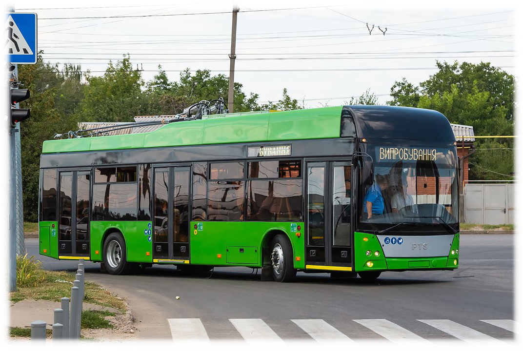 Троллейбус PTS 12 - производство ООО ПОЛИТЕХНОСЕРВИС при участии компании MV-TOOLS