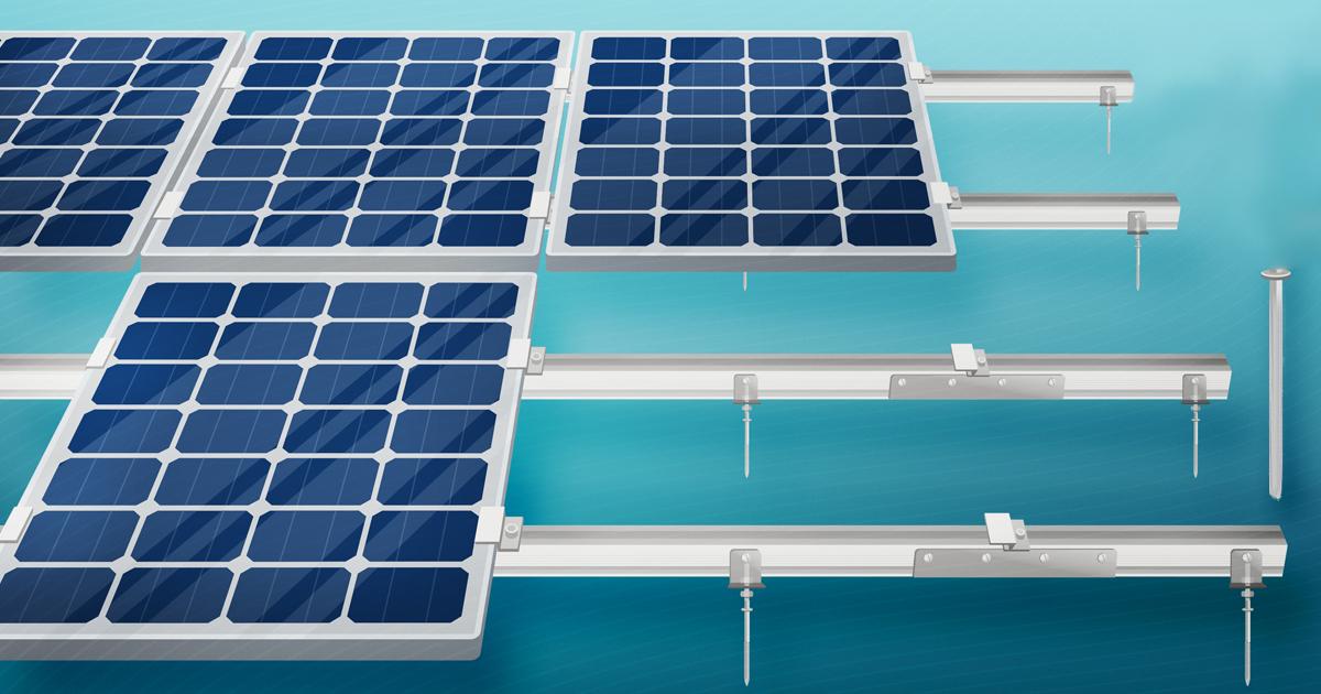 Солнечные панели - крепеж MV-Tools